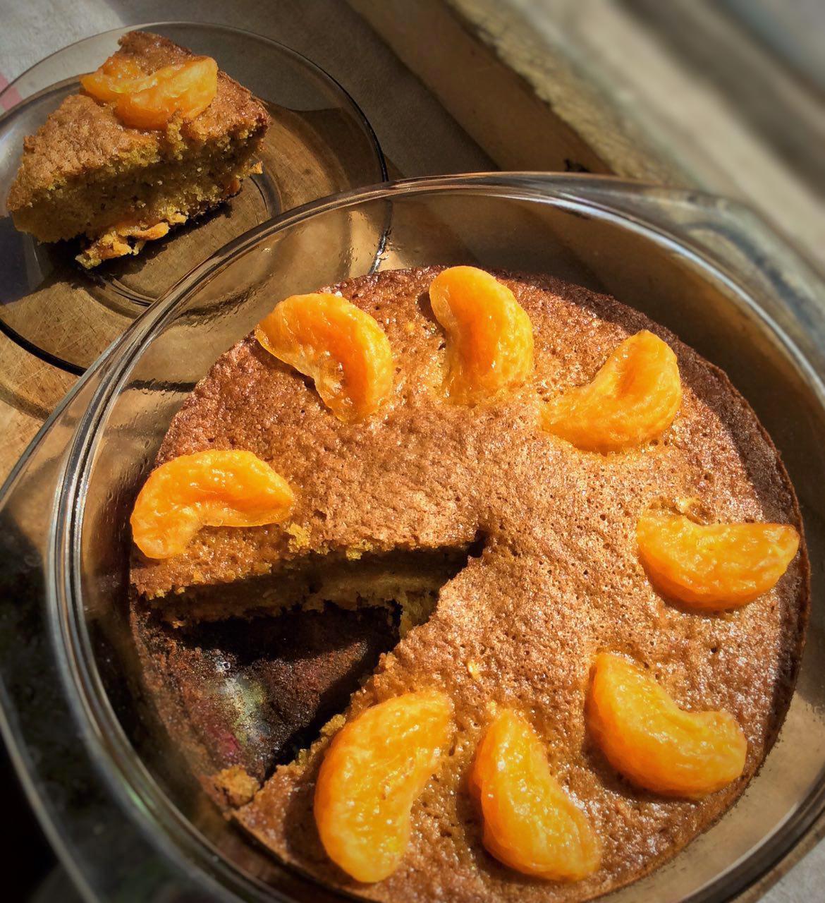 Солнечный кукурузно-морковный пирог