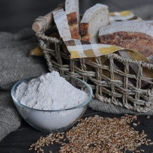 Whole grain wheat flour